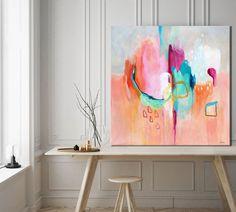Lumiere - abstract painting by Sarina Diakos - sarindiakos.com