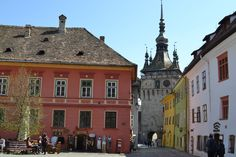 Experience the history of Romania by visiting Sighisoara. History Of Romania, Mansions, House Styles, Travel, Home Decor, Viajes, Decoration Home, Manor Houses, Room Decor