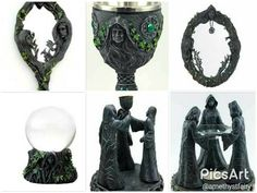 Celebrate the three sides of the goddess Mother Maiden Crone gorgeous set.  Perfect for any room or altar.  10% off.  Free site to store.  Free shipping orders $100 or more. ift.tt/2pxBOcV #goddess #maidenmothercrone #pagan #wiccan #witchcraft #witch #witchowned #newage #newage #metaphysical #newproducts #shopsmall #newhampshirepagans #newhampshirewitches #massachusettswitches massachusettswitches #massachusettspagans #newenglandpagans #newenglandwitches #magick