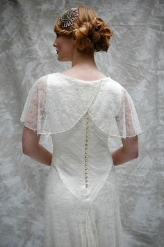 Sally Lacock vintage 1920s and Edwardian inspired wedding dresses
