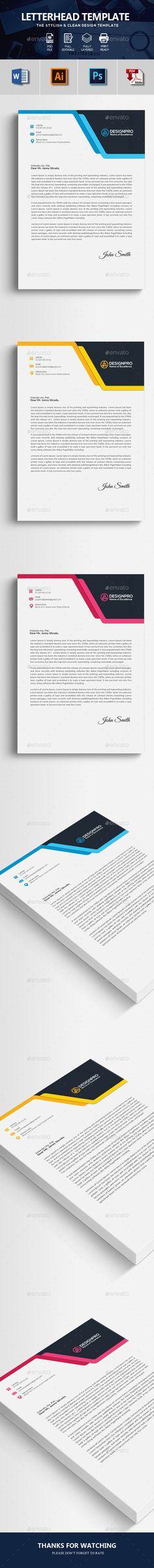 letterhead business letter format envelope sample psd template - professional letterhead format
