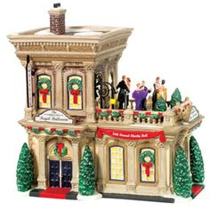 "Department 56: Products - ""The Regal Ballroom"" - View Lighted Buildings  Wish list"