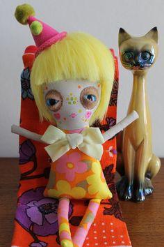 Special Luflie Doll  Mum Cut My Hair    Sleepy Sad Eye by green32f