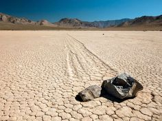 Racetrack Playa, Death Valley National Park, California - Shutterstock/Vezzani Photography