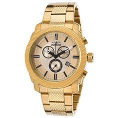 Herren Uhr Invicta 18014 Gold Watch, Watches, Accessories, Wristwatches, Clocks, Jewelry Accessories