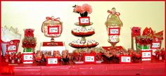How adorable is this Lady Bug Baby Shower!