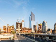 As multiple buildings rise Hudson Yards begins to emerge as a neighborhood