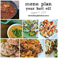 Put an end to 'what's for dinner?' with our free, healthy Menu Plan Your Butt Off!
