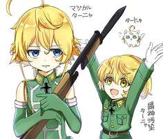 Cute Anime Character, Character Drawing, Anime Figures, Anime Characters, Tanya The Evil, Anime Traps, Anime Military, Anime Artwork, Manga Games