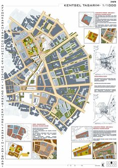 Afyonkarahisar Cumhuriyet Square and its surroundings National competition for architecture and urban design ideas, honorable mention: Cengiz Giritlioğlu School Architecture, Architecture Plan, Architecture Details, Urban Design Concept, Urban Design Plan, Urban Landscape, Landscape Design, Site Development Plan, Site Analysis Architecture