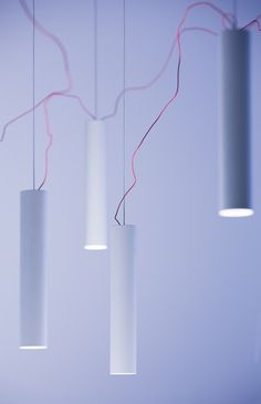 An unstructured chandelier, light and just about impossible
