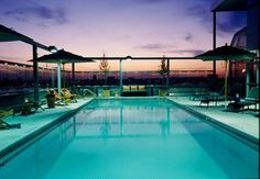 A list of America's sexiest hotel pools that will inspire your next getaway. Take a dip!