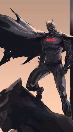 Batman Beyond: The Dark Knight by Dexter Soy Batman Fan Art, Red Batman, Batman Artwork, Batman Wallpaper, Joker Batman, Batman Robin, Gotham Batman, Spiderman Art, Jason Todd Batman