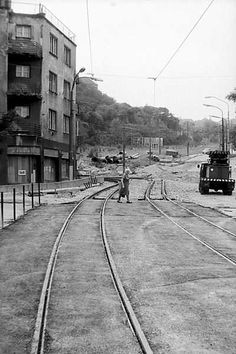 Stará Bratislava Bratislava, Old Photos, Railroad Tracks, Nostalgia, Street View, Times, Bridges, Retro, Inspiration