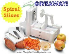 Spiral Slicer Giveaway! @ Healy Real Food Vegetarian