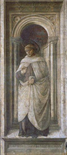 ❤ - Fra' FILIPPO LIPPI (1406-1469) - St. Alberto of Trapani.