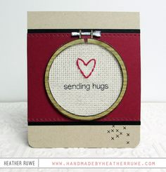 Neat and Tangled: July 2015 Release Day 4: Introducing Hand Stitched + Dies