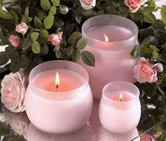 Light a few candles to set on your table with a rose floral arrangement. Candle Lanterns, Pillar Candles, Scented Candles, Paraffin Candles, Paraffin Wax, Bougie Candle, Candle In The Wind, Fire Candle, Porta Velas