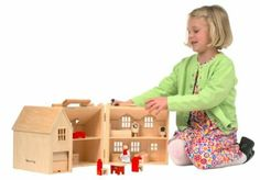I need a portable, gender neutral doll house, like this AWESOME one.