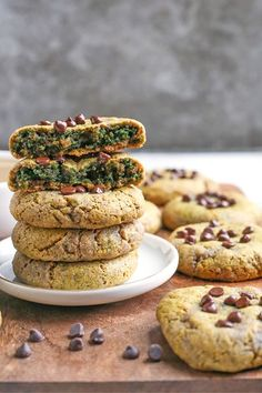 These Easy Paleo SunButter Cookies are naturally green with no hidden veggies. With only 6 ingredients they are easy and delicious! Gluten free, dairy free, nut free, and naturally sweetened. #paleocookies #glutenfree #healthy #easyrecipe #dairyfree | realfoodwithjessica.com @realfoodwithjessica Paleo Recipes, Gourmet Recipes, Real Food Recipes, Dessert Recipes, Paleo Dessert, Sweet Recipes, Cookie Recipes, Dairy Free, Nut Free