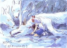 Studio Ghibli © Toho Company © Buena Vista International by Hayao Miyazaki by Hayao Miyazaki Sourc. Character Design, Drawings, Animation Art, Art Studios, Animation, Ghibli Artwork, Animation Studio, Japanese Animation, Art
