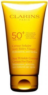 Clarins Solares UVB 50+ UVACrème Solaire Anti-Rides