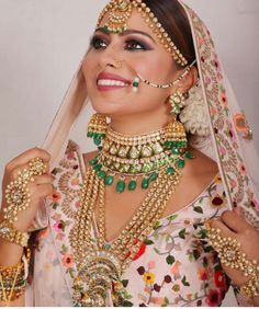 Picture from Neha Adhvik Mahajan Photo Gallery on WedMeGood. Browse more such photos & get inspiration for your wedding Wedding Sets, Wedding Blog, Wedding Day, Bridal Makup, Bride Portrait, Full Look, Bridal Shoot, Perfect Photo, Bridal Looks