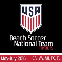 U.S. Beach Soccer National Team Tryouts 2016