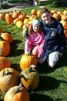 Through winter, spring, summer and fall, brothers and sisters appreciate each other's company. Here in the pumpkin patch my kids are the best of friends, until minutes later when they both wanted the same pumpkin, of course. @experbadmom for @mamalode #MamalodeMondayTakeover