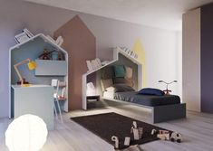 Christmas wishlist: Care, order, play and freedom. Kids bedroom