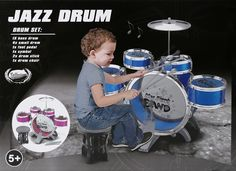 (44.30$)  Watch more here - http://aidoq.worlditems.win/all/product.php?id=32718804983 - New Big Plus size Jazz Drum Set with Chair Music Educational Toy Instrument for Kids children