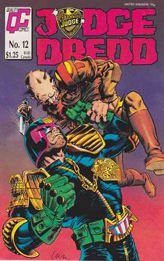 Quality Comics Judge Dredd #12 #judgedredd #comicbooks