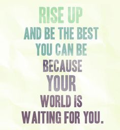 Rise up...