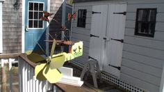 This is a Butterfly whirligig that I designed and built
