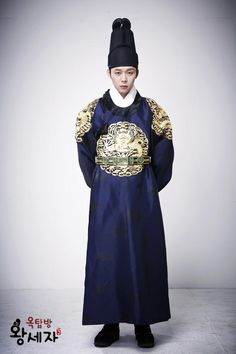 Park Yoo-Chun 2012 in Rooftop Prince (Prince Lee Gak/ Jong Tae-Yong) Korean Traditional, Traditional Fashion, Traditional Outfits, Asian Actors, Korean Actors, Korean Dramas, Park Yoo Chun, Korean Hanbok, Korean Men