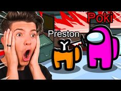 Pokimane Makes 2,000 IQ Impostor Plays! - Among Us - YouTube Preston Playz, Star Wars Painting, Fnaf, Plays, Minecraft, Youtube, How To Make, Other, Games