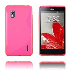 S-Line (Rosa) LG Optimus G E975 Deksel