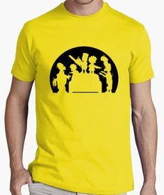 Camiseta Simpsons asesinos