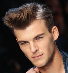 mens hairstyle fade hair