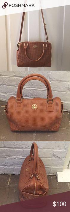 Tory Burch satchel Tory Burch bag with detachable cross body strap! No defects Tory Burch Bags Satchels
