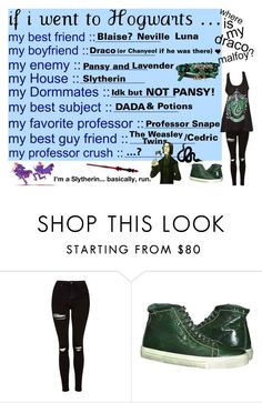 """""""If I went Hogwarts... """" by takemetothecookies ❤ liked on Polyvore featuring Topshop"""