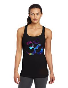 ohm yoga galaxy nebula women tank top size S  3XL by GoldStarz, $20.00