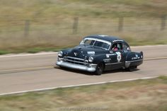 A 1949 Cadillac on the course at the 2011 Sandhills Open Road Challenge