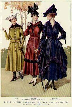 Si Toco Rock BLOG DE MODA: Historia de la moda 1910-1920