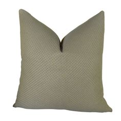 Mancuso Rain Handmade Throw Pillow