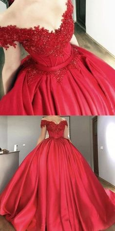 af056245810 65 Best Red Quinceanera Dresses images in 2019