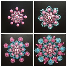 Best Picture For mandala artwork For Your TasteYou are looking for something, and it is going to tell you e Rock Painting Patterns, Dot Art Painting, Rock Painting Designs, Mandala Painting, Pebble Painting, Pebble Art, Mandala Artwork, Mandala Canvas, Mandala Dots