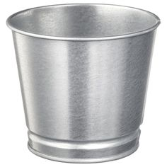 IKEA - BINTJE, Plant pot, galvanized, Galvanized for rust resistance. Decorate your home with plants combined with a plant pot to suit your style. Mosslanda Picture Ledge, 365 Jar, Lohals, Kallax Shelf Unit, Drawer Unit, Recycling Facility, Muebles Living, Decoration Plante, Cleanser