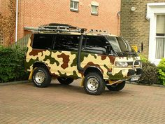 Would be so cute for a camper and van combo Pedazo Furgo! by Roberto Pla Diaz, via Flickr