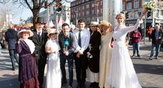 This bank holiday Easter Monday, Dublin city centre, north and south, will be transformed by the biggest public history and cultural event ever staged in Ir Easter Monday, Easter Weekend, Apple Calendar, Easter Rising, Dublin City, Cultural Events, Modern History, Bridesmaid Dresses, Wedding Dresses